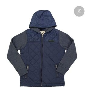 BNWT Triple 5 Soul boys lightly quilted jacket